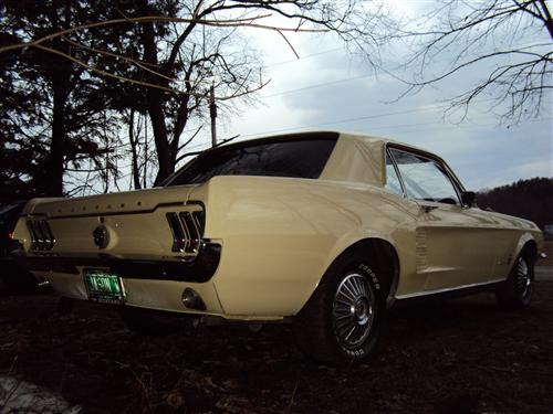 Jason Wheeler's 1967 Ford  Mustang