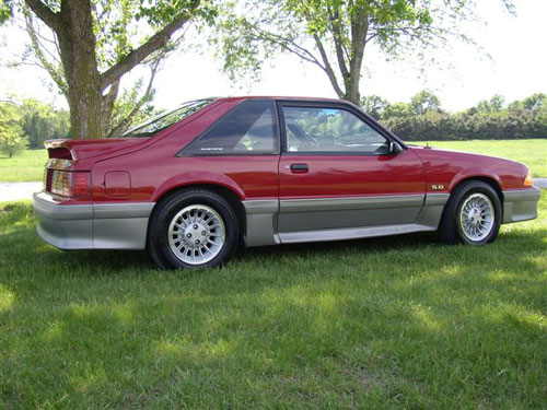 Jerry Williams' 1989 Ford Mustang GT