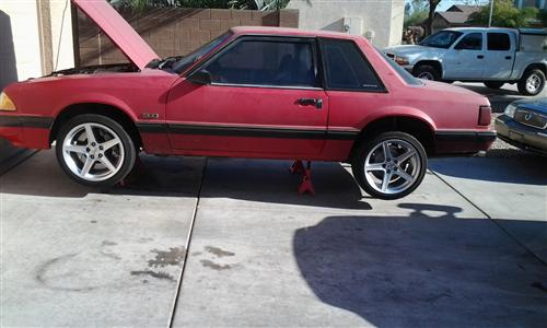 Jim  Tunstell's 1991 Ford Mustang LX 5.0L Notchback