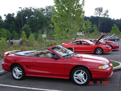 Jim Ritenour's 1994 Ford Mustang GT Conv.