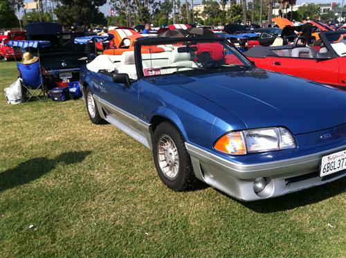 Jim Williams' 1989 Ford Mustang GT Convertible
