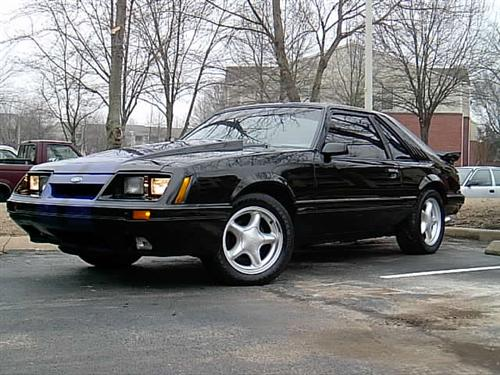 Jody Barber's 1986 Ford Mustang