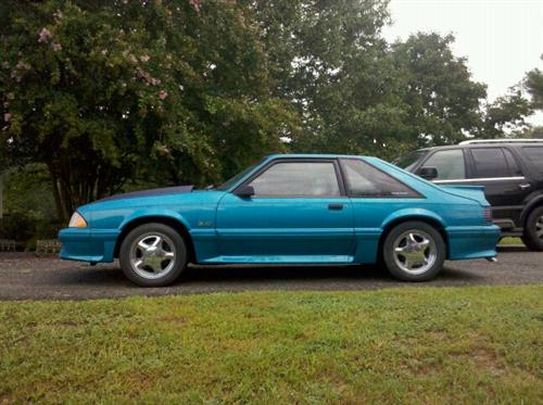 Jonathan May's 1992 Ford  Mustang Gt Hatchback