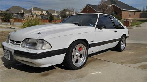 Justin Lay's 1988 Ford Mustang LX