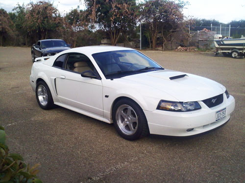 Justin Carver's 2002 Ford Mustang GT