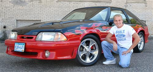 Justin Engmark's 1991 Ford Mustang GT
