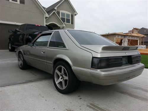Justin McArthur's 1987 Ford Mustang Lx