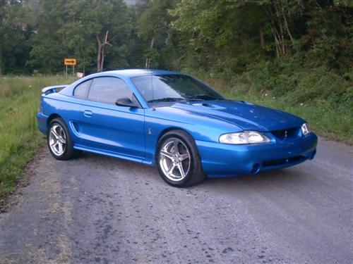 Justin Wilson's 1998 Ford Mustang Cobra