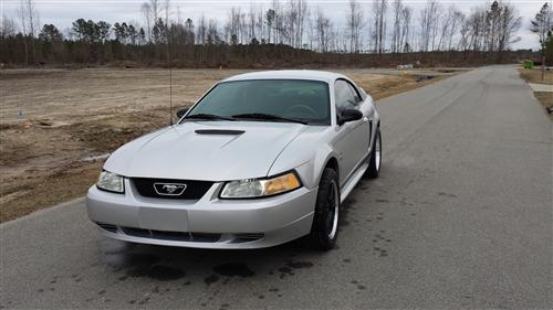 kaitlin Barkley's 2000 ford Mustang