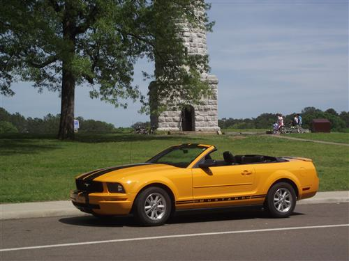 kathy bickford's 2007 ford mustang