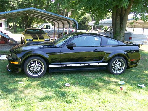 kathy hamm's 2008 ford mustang
