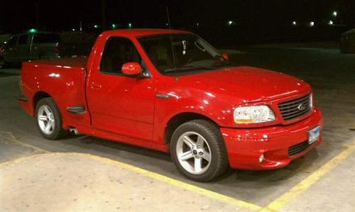 Kelly House's 2003 Ford Lightning