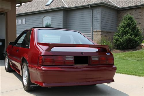 Kelly Ortgies' 1989 Mustang GT