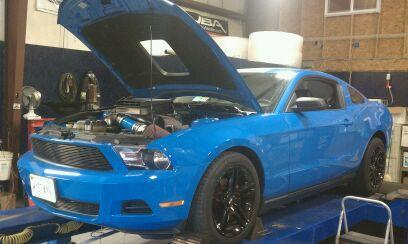 Kenneth Curry II's 2010 Ford Mustang