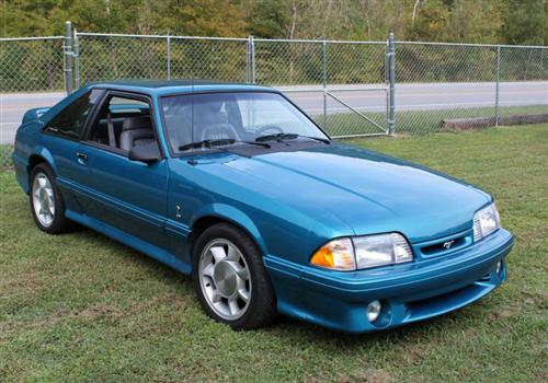 kevin combs' 93 ford  mustang cobra