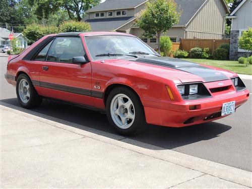 kevin ratzlaff's 1983 ford Mustang gt