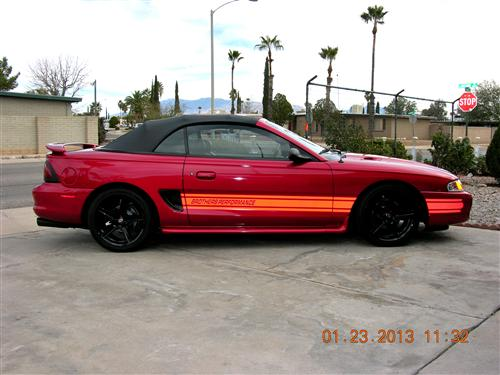Larry & Maria  Stafford's 1995 Ford Mustang GT Convertible