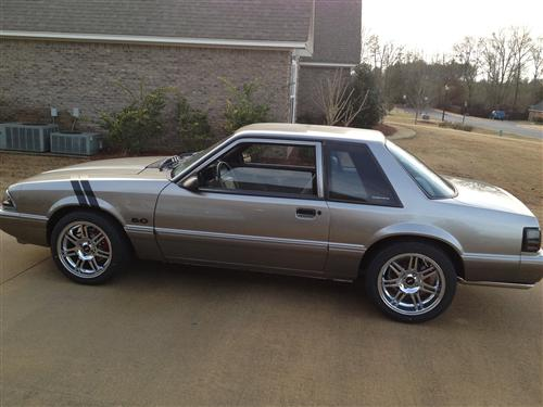Luther  Jones' 93 Mustang LX