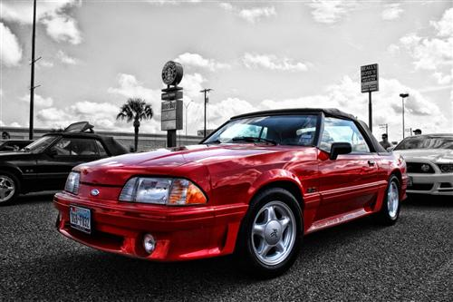 Manny Saenz's 1992 Ford Mustang GT Convertible