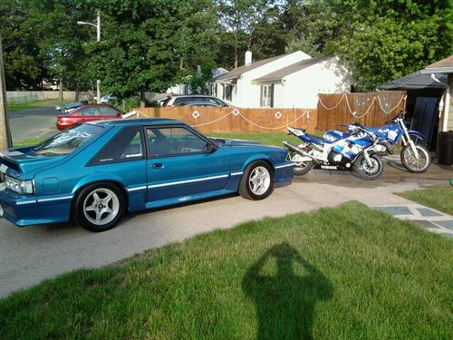 marc rivest's 1993 Ford Mustang