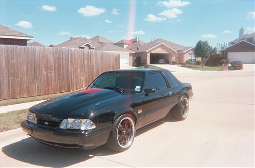Marcus Myles' 1993 Ford Mustang lx