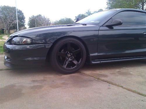mario sandoval's 1998 ford mustang