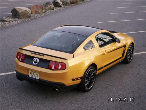 Mark Blackowski's 2012 ford Mustang BOSS