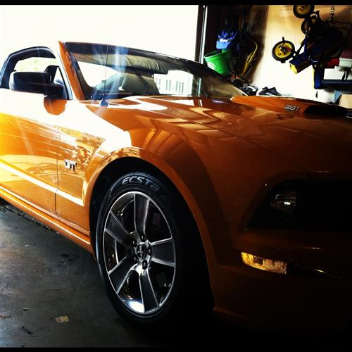 mark reinwald's 2008 ford mustang