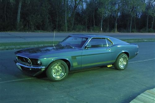 Matt Curtis' 1969 Ford Boss 302
