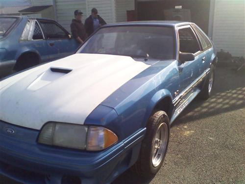 matthew  pryor's 1989 ford mustang