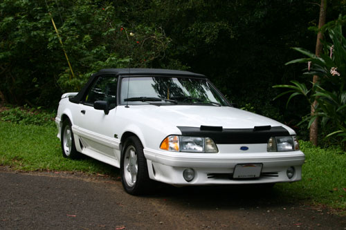 Matthew Sharritt's 1987 Ford Mustang Convertible