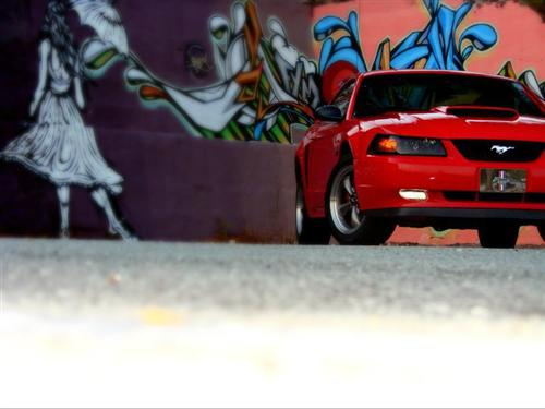 michael kitchens' 2003 ford mustang