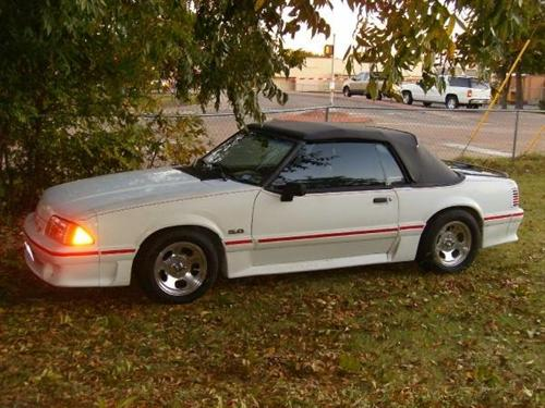 Michael Whittle's 1988 Ford  Mustang Gt
