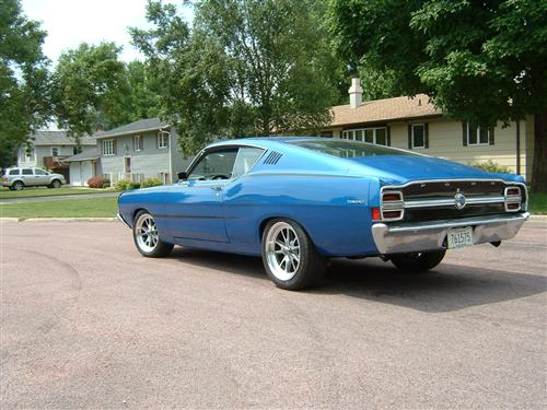 mike  johnson's 1968 ford torino gt fastback