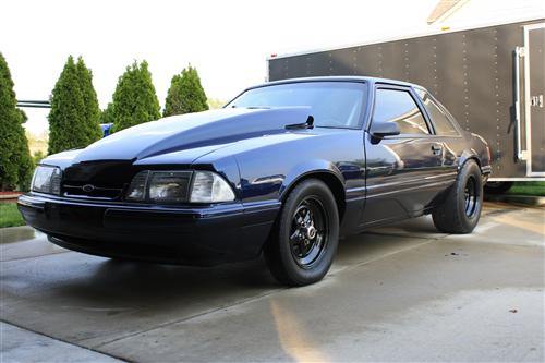 mike  yensch's 1990 ford mustang