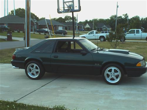 MIKE DEES's 1991 FORD MUSTANG
