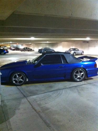 Mike Lonigro's 1989 Ford  Mustang GT Conv