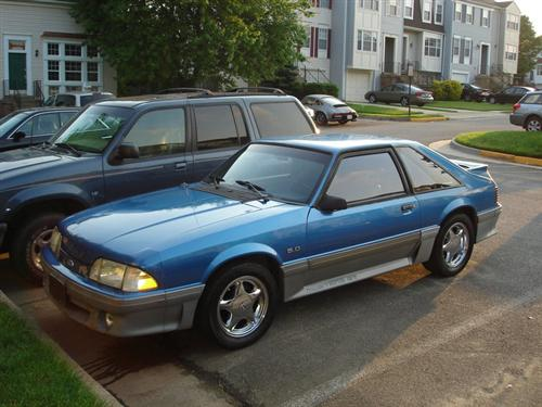 Mike Urban's 1993 Ford Mustang