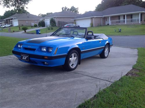 Paul C's 1986 Ford Mustang