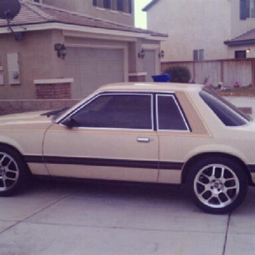 Rashad Johnson's 1982 Ford Mustang