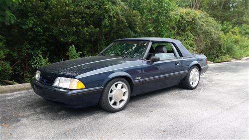 Richie  Nags' 1989 FORD MUSTANG LX CONVERTIBLE 5.0
