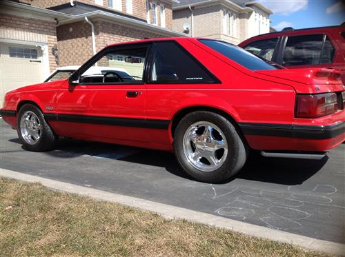 Rob Roccosanto's 1989 Ford Mustang
