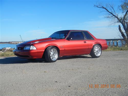 Robert Green's 1991 Ford Mustang LX