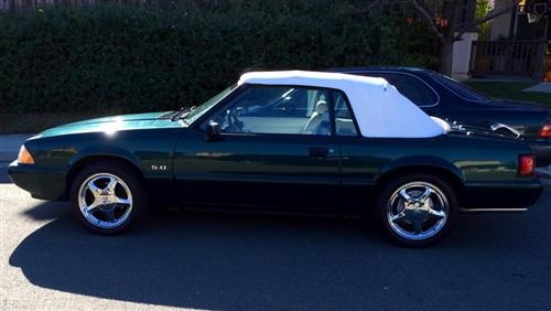 Roshawn Pearson's 1990 Ford Mustang lx