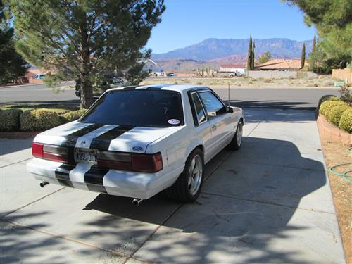 Ryan  Jacobs' 1986 ford mustang lx