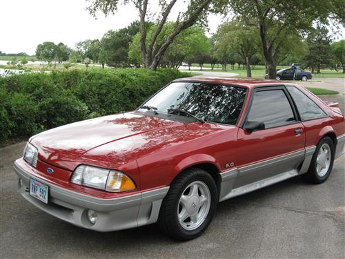Scott Fisher's 1992 Ford Mustang GT/ Hatchback