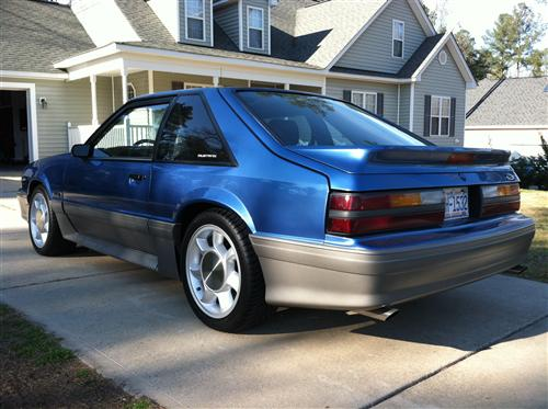 Scott Wilkins' 1988 Ford Mustang GT