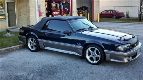 sean mayfield's 88 ford mustang gt