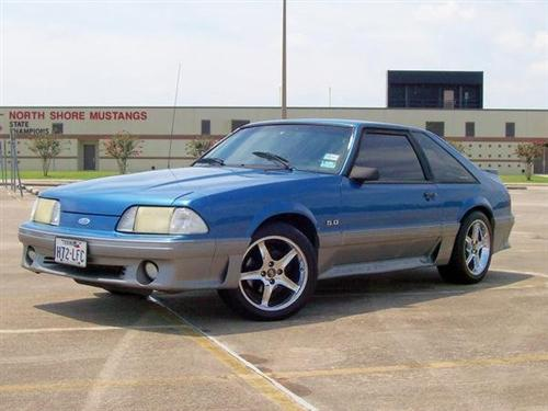 Sonny Morales' 1988 Ford Mustang GT
