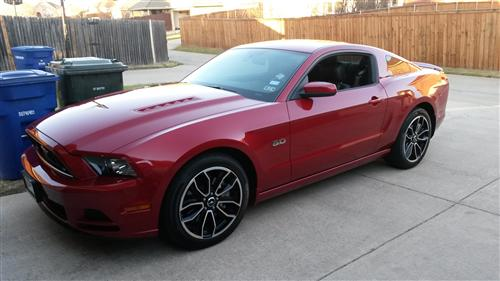 Stan Sigle's 2013 Ford Mustang GT Coup
